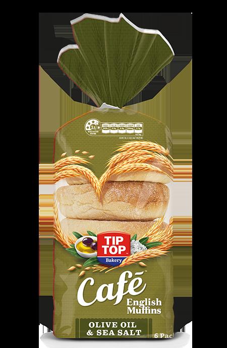 Tip Top® Café Olive Oil and Sea Salt English Muffins